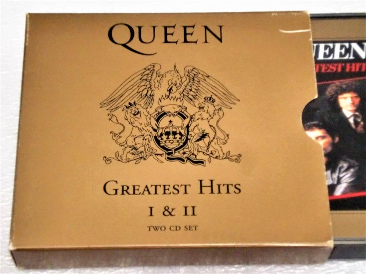 CD QUEEN GREATEST HITS Ⅰ&Ⅱ/クイーン グレイテストヒッツ Ⅰ&Ⅱ/TOCP-65056・57/2枚組/34曲_画像1