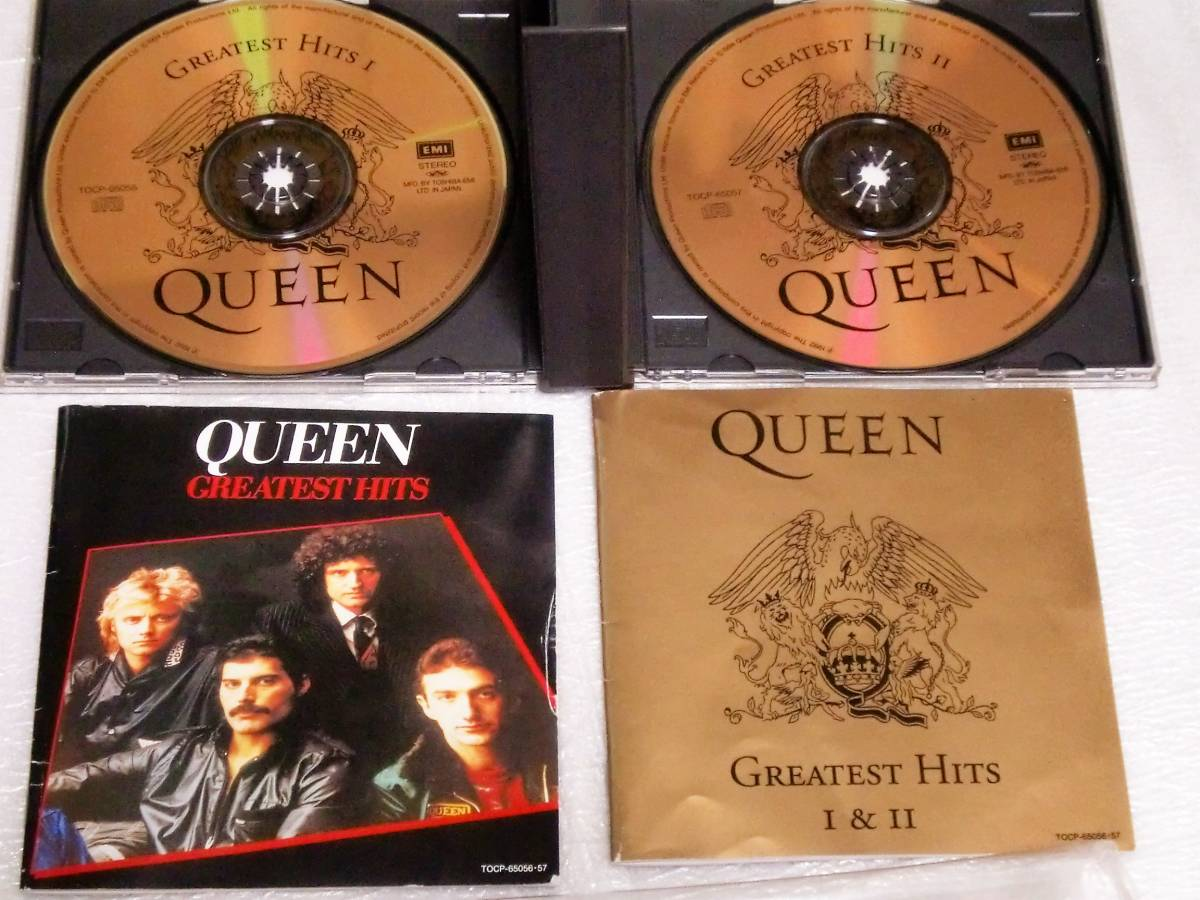 CD QUEEN GREATEST HITS Ⅰ&Ⅱ/クイーン グレイテストヒッツ Ⅰ&Ⅱ/TOCP-65056・57/2枚組/34曲_画像4