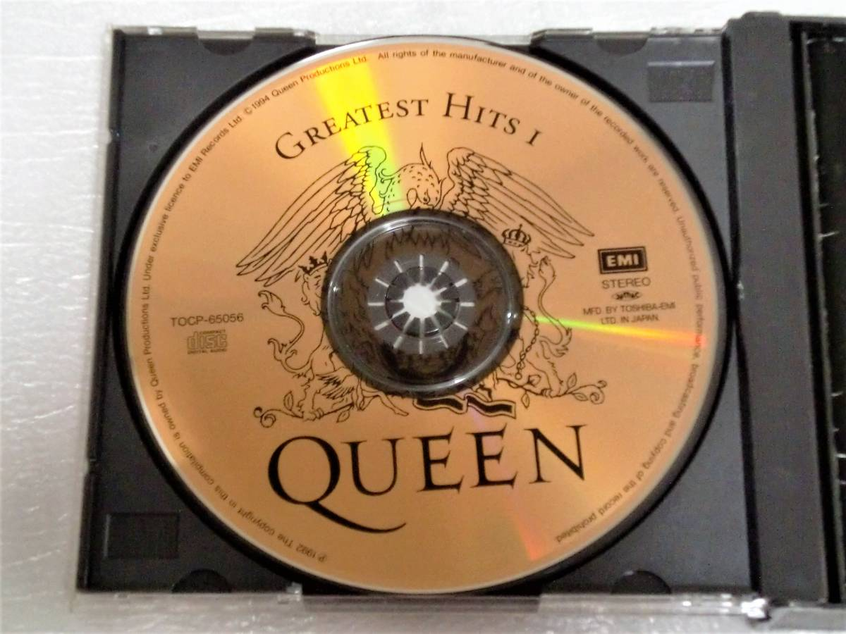 CD QUEEN GREATEST HITS Ⅰ&Ⅱ/クイーン グレイテストヒッツ Ⅰ&Ⅱ/TOCP-65056・57/2枚組/34曲_画像7