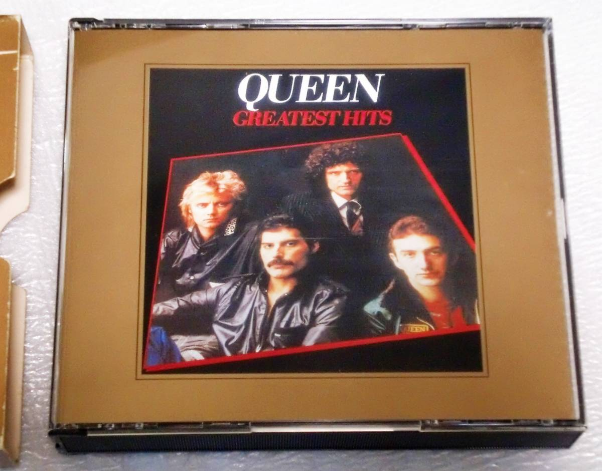 CD QUEEN GREATEST HITS Ⅰ&Ⅱ/クイーン グレイテストヒッツ Ⅰ&Ⅱ/TOCP-65056・57/2枚組/34曲_画像9