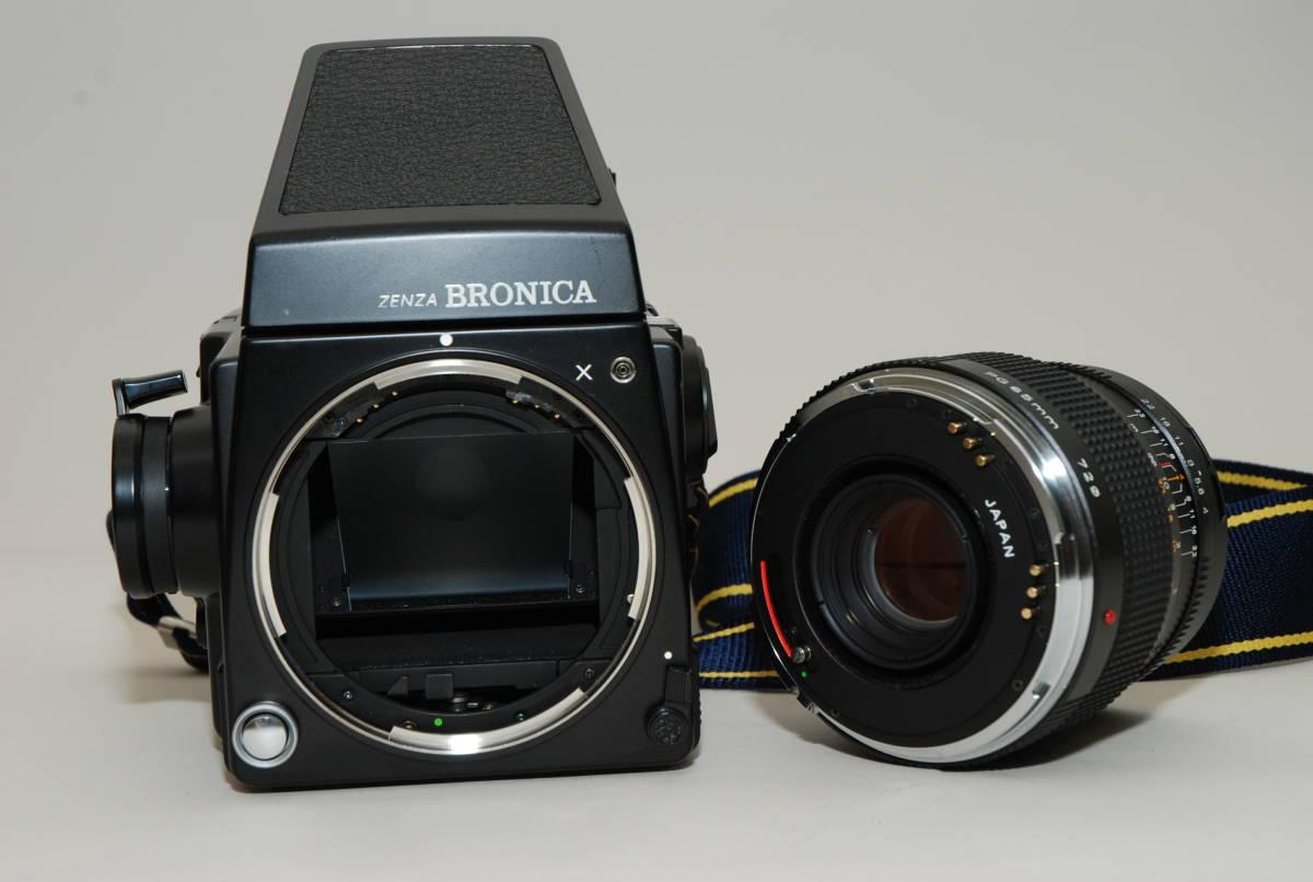 ZENZA BRONICA ゼンザブロニカGS-1 60mm、110mm、200mm、250mmレンズ4本_画像7