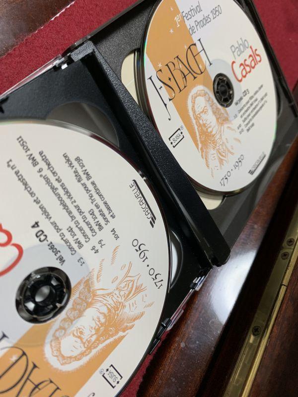 廃盤 1950年 第1回プラド音楽祭 J.S.バッハ没後200年祭 パブロ・カザルス プラド祝祭管弦楽団 ルフェビュール ハスキル ホルショフスキ_画像7