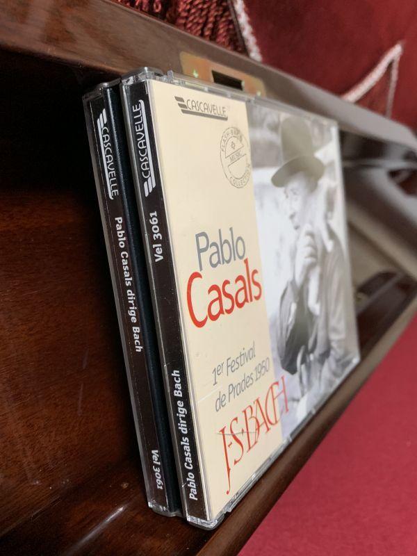 廃盤 1950年 第1回プラド音楽祭 J.S.バッハ没後200年祭 パブロ・カザルス プラド祝祭管弦楽団 ルフェビュール ハスキル ホルショフスキ_画像3