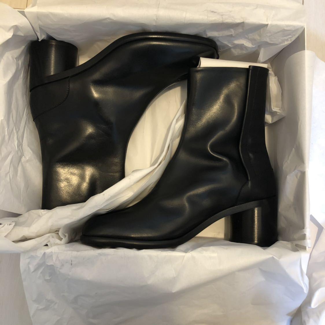 [41] 19SS 確実正規品 Maison Margiela Tabi boots メゾンマルジェラ タビブーツ 足袋ブーツ マルタンマルジェラ タビ 足袋 26㎝_画像4