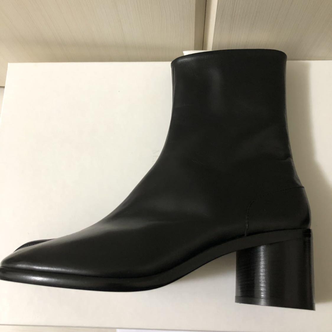 [41] 19SS 確実正規品 Maison Margiela Tabi boots メゾンマルジェラ タビブーツ 足袋ブーツ マルタンマルジェラ タビ 足袋 26㎝_画像6