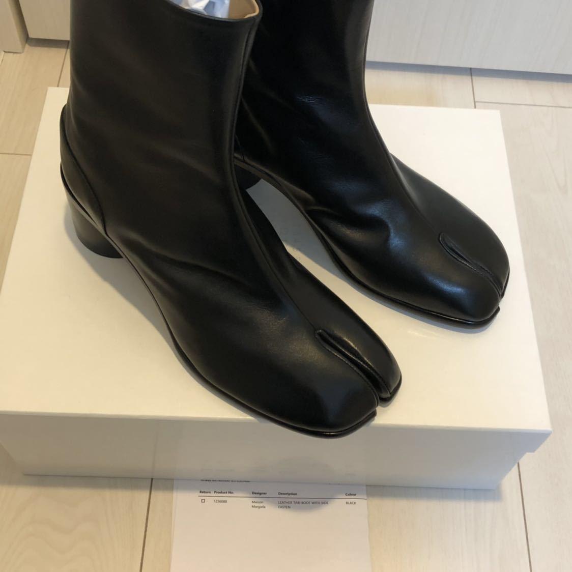 [41] 19SS 確実正規品 Maison Margiela Tabi boots メゾンマルジェラ タビブーツ 足袋ブーツ マルタンマルジェラ タビ 足袋 26㎝_画像5