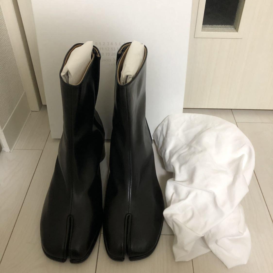 [41] 19SS 確実正規品 Maison Margiela Tabi boots メゾンマルジェラ タビブーツ 足袋ブーツ マルタンマルジェラ タビ 足袋 26㎝_画像10