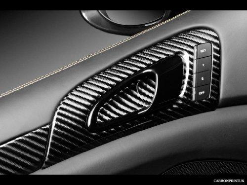 a510 4D リアル カーボン シート 152cm×30cm 黒 ブラック_画像3