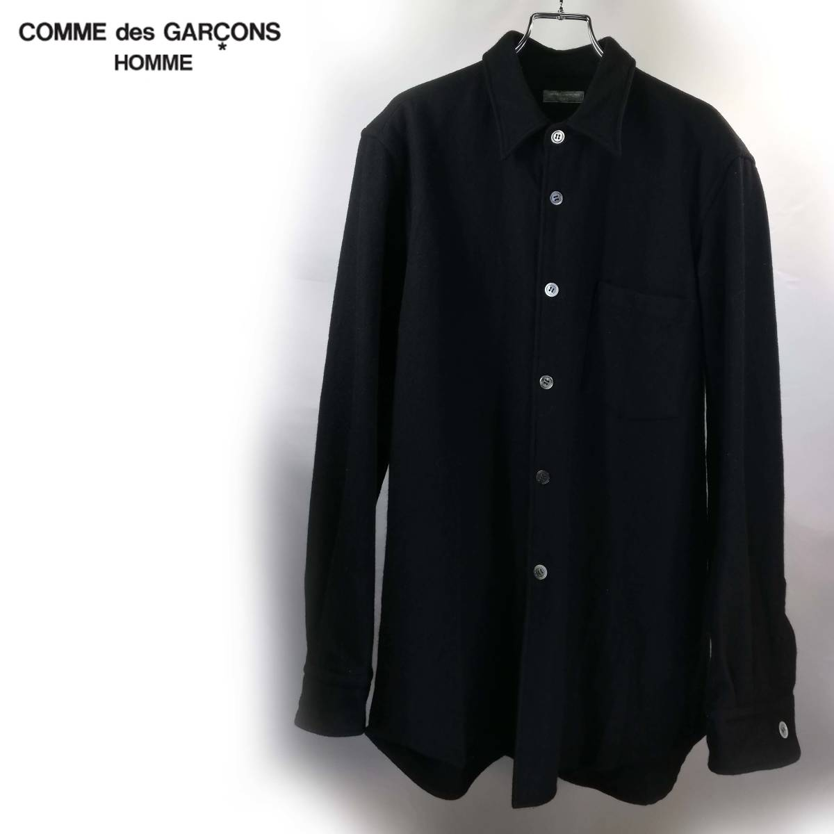 COMME des GARCONS HOMME ウールシャツ 2001 SS