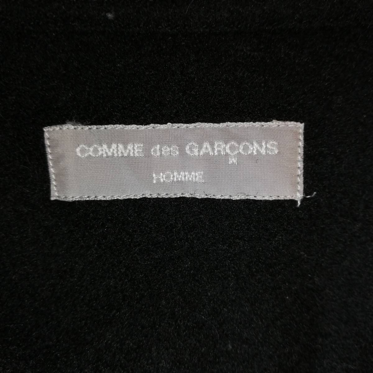 COMME des GARCONS HOMME ウールシャツ 2001 SS_画像3