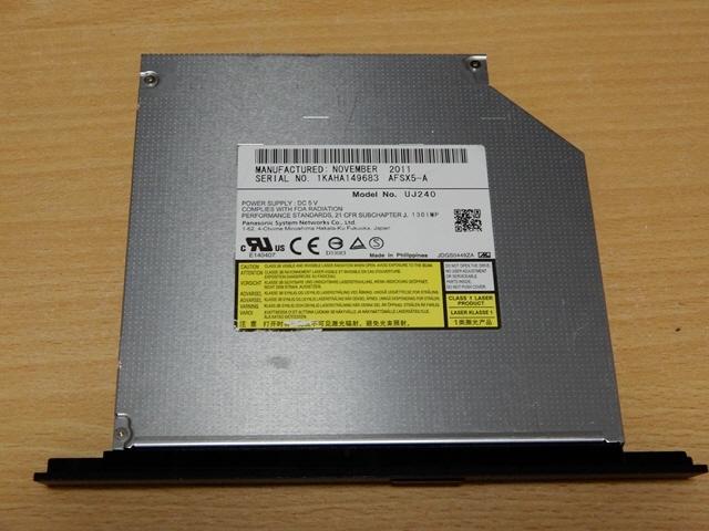 ■Panasonic ブルーレイディスクドライブ BD-RE UJ240 2点セット 送料無料_画像3