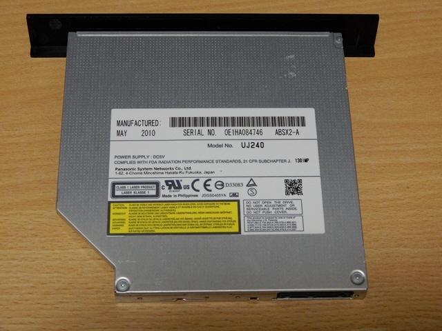 ■Panasonic ブルーレイディスクドライブ BD-RE UJ240 2点セット 送料無料_画像4