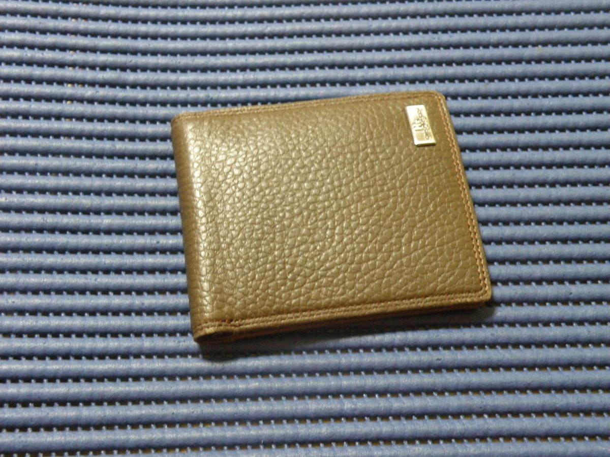 ◆J1◆ コシノヒロコ HIROKO KOSHINO 二つ折り 財布 状態良好 定形外郵便 クリックポスト