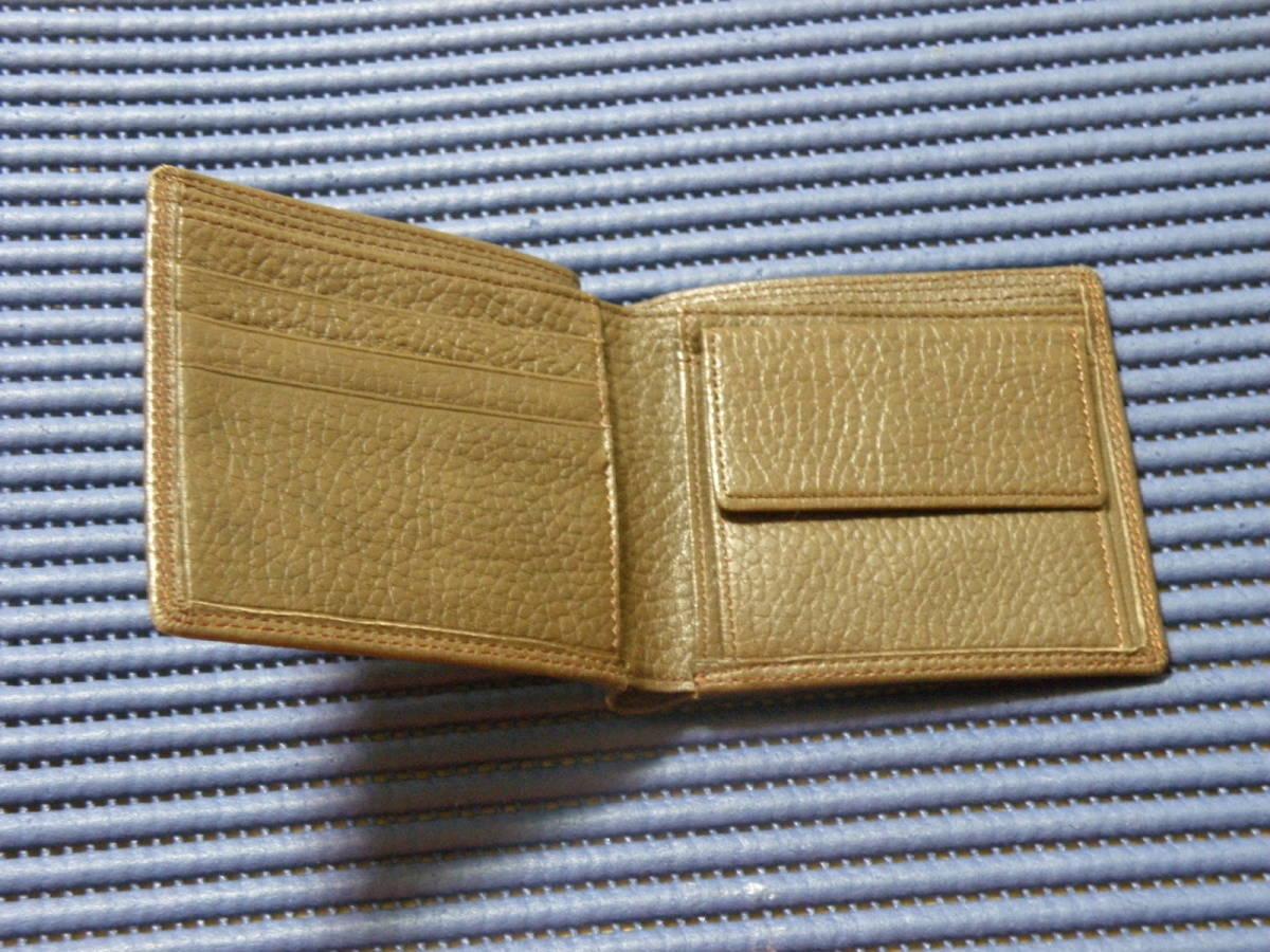 ◆J1◆ コシノヒロコ HIROKO KOSHINO 二つ折り 財布 状態良好 定形外郵便 クリックポスト_画像3