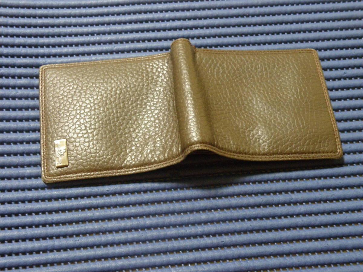 ◆J1◆ コシノヒロコ HIROKO KOSHINO 二つ折り 財布 状態良好 定形外郵便 クリックポスト_画像7