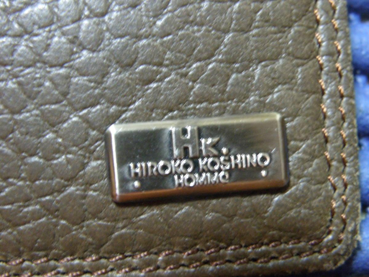 ◆J1◆ コシノヒロコ HIROKO KOSHINO 二つ折り 財布 状態良好 定形外郵便 クリックポスト_画像8