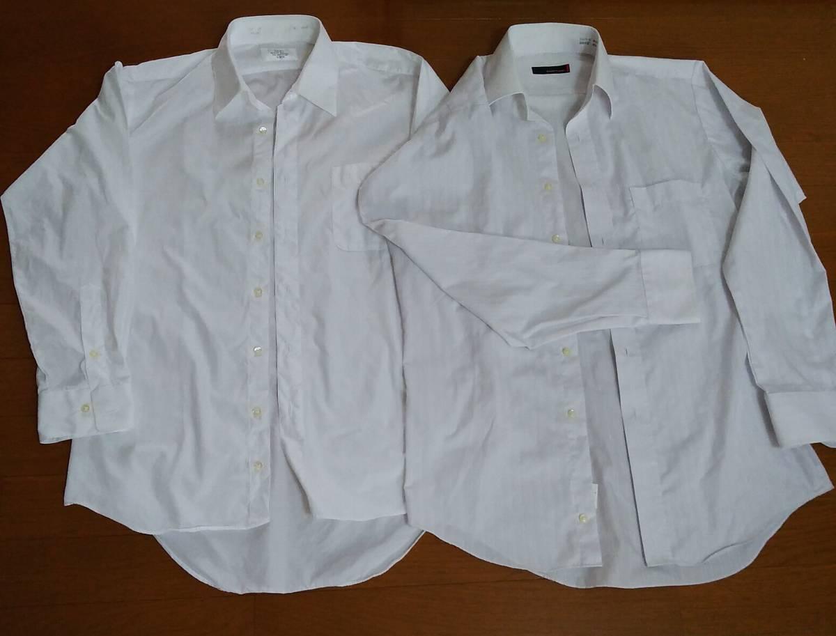 男性用カッターシャツ★39★長袖★2着セット★送料込み