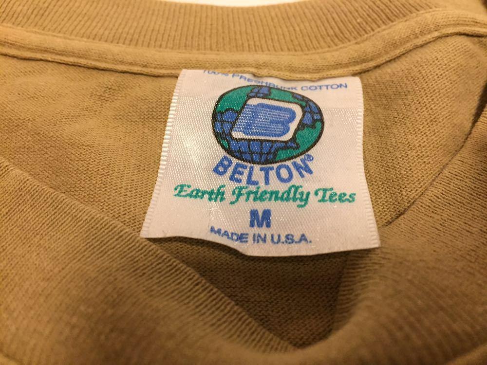 90s 初頭 USA製 santa cruz scs サンタクルーズ ロゴ tシャツ 両面 BELTON VINTAGE size M ビンテージ_画像9