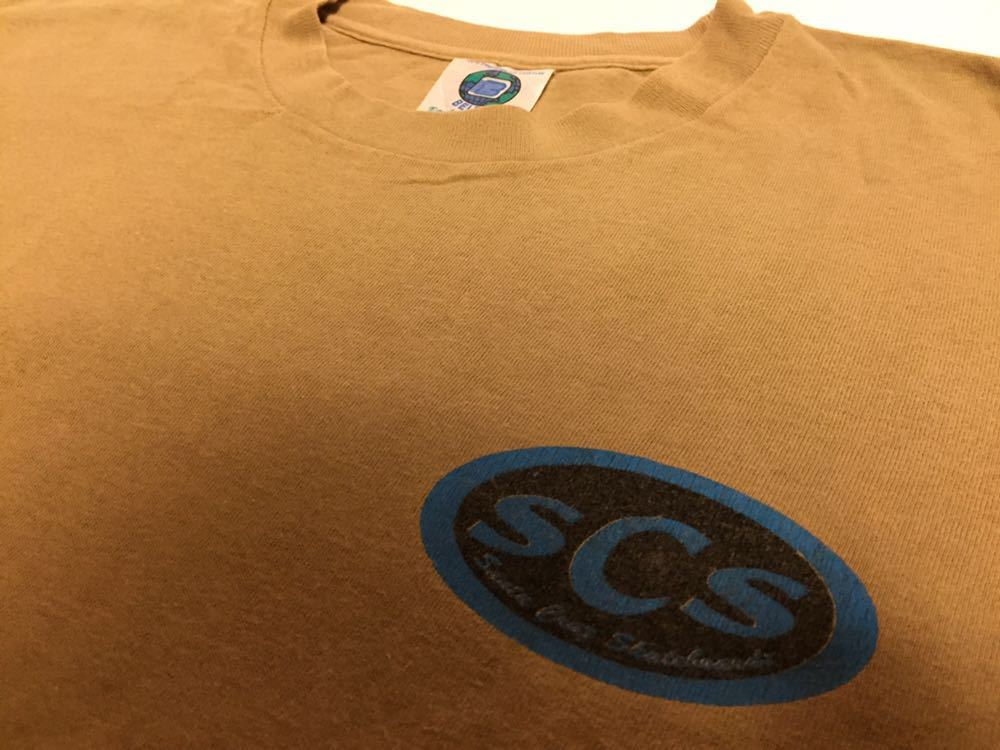 90s 初頭 USA製 santa cruz scs サンタクルーズ ロゴ tシャツ 両面 BELTON VINTAGE size M ビンテージ_画像3