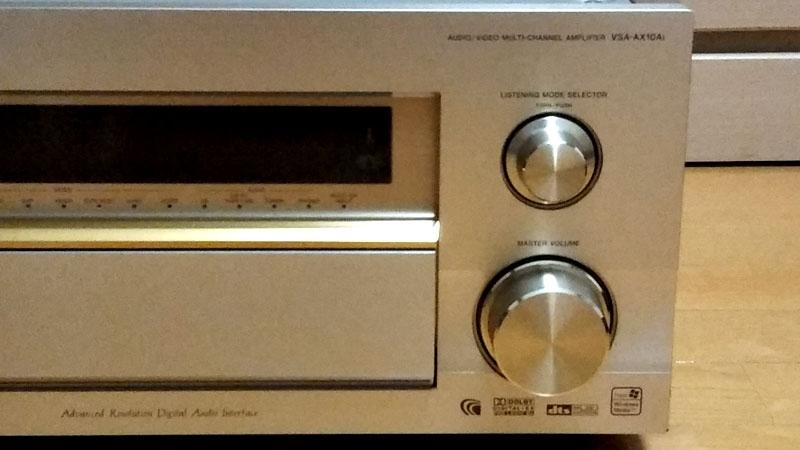 Pioneer AVアンプVSA-AX10Ai (ジャンク品)_画像3