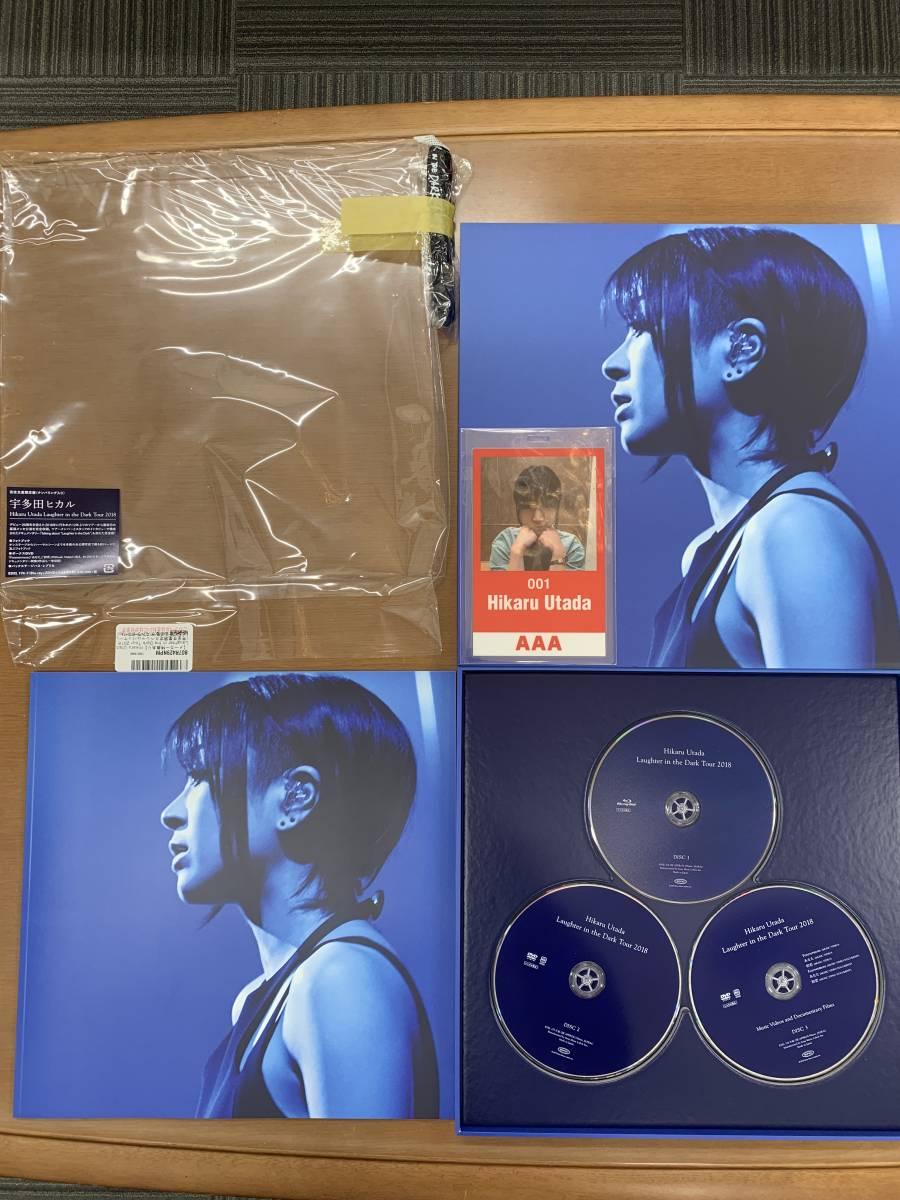 ☆新品同様 Hikaru Utada Laughter in the Dark Tour 2018 (Blu-ray+2DVD) (オリジナルネックストラップ付)_画像3