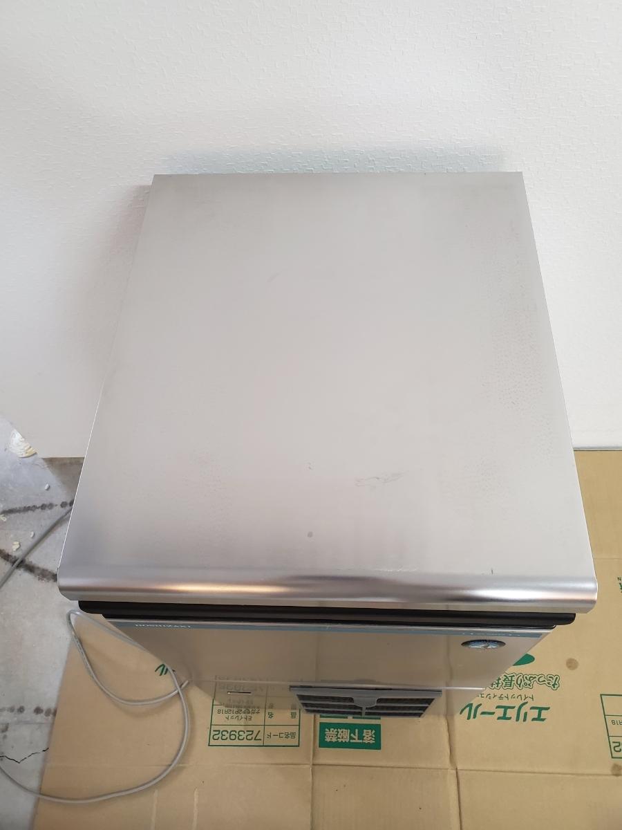 【超美品】ホシザキ 16年製 業務用 全自動製氷機 IM-25M-1 キューブアイス アンダーカウンター 25Kタイプ_画像2