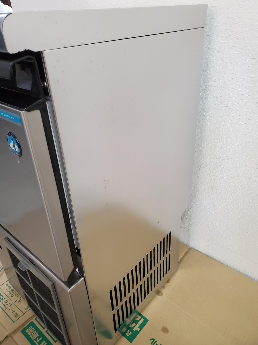 【超美品】ホシザキ 16年製 業務用 全自動製氷機 IM-25M-1 キューブアイス アンダーカウンター 25Kタイプ_画像4