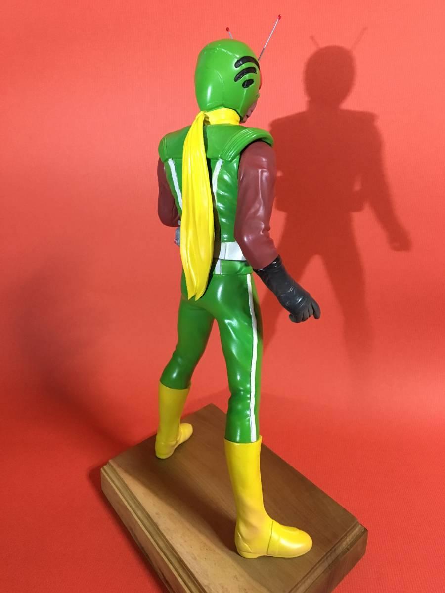 ボークス ガレージキット 仮面ライダー スカイライダー 偽物カラー OHシリーズ ソフビキット 海洋堂 ビリケン 完成品 1/6_画像2