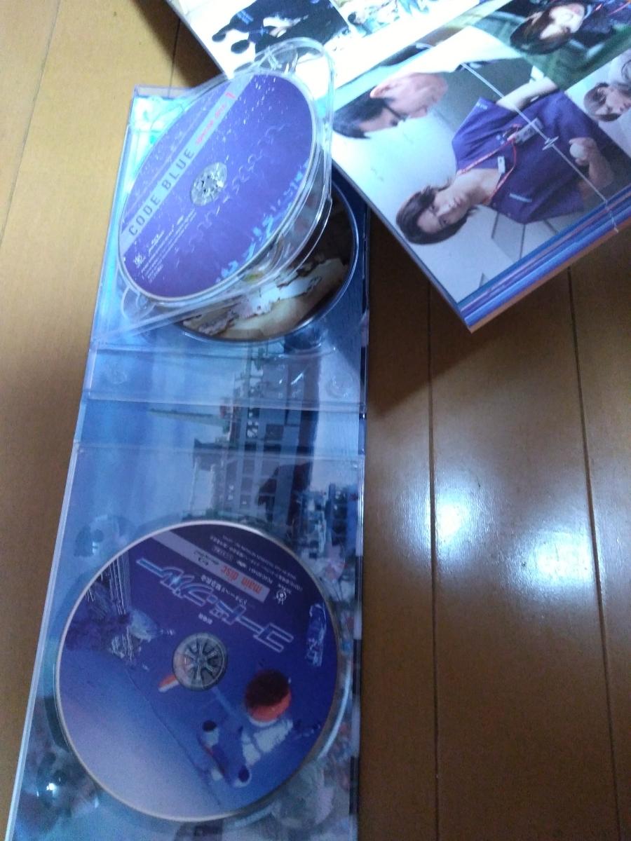 先着特典ICステッカー付き 劇場版コード・ブルー Blu-ray豪華版(山下智久 新垣結衣 新木優子 ブルーレイ DVD)_画像2