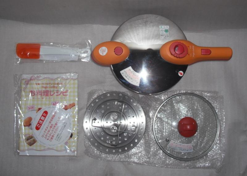 MK-2 松居一代プロデュース圧力鍋4.5l Magic Cooking 中古