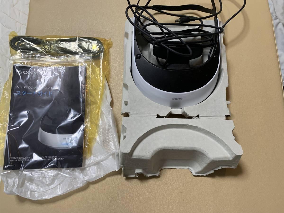 SONY HMZ-T2 ヘッドマウントディスプレイ 中古_画像2