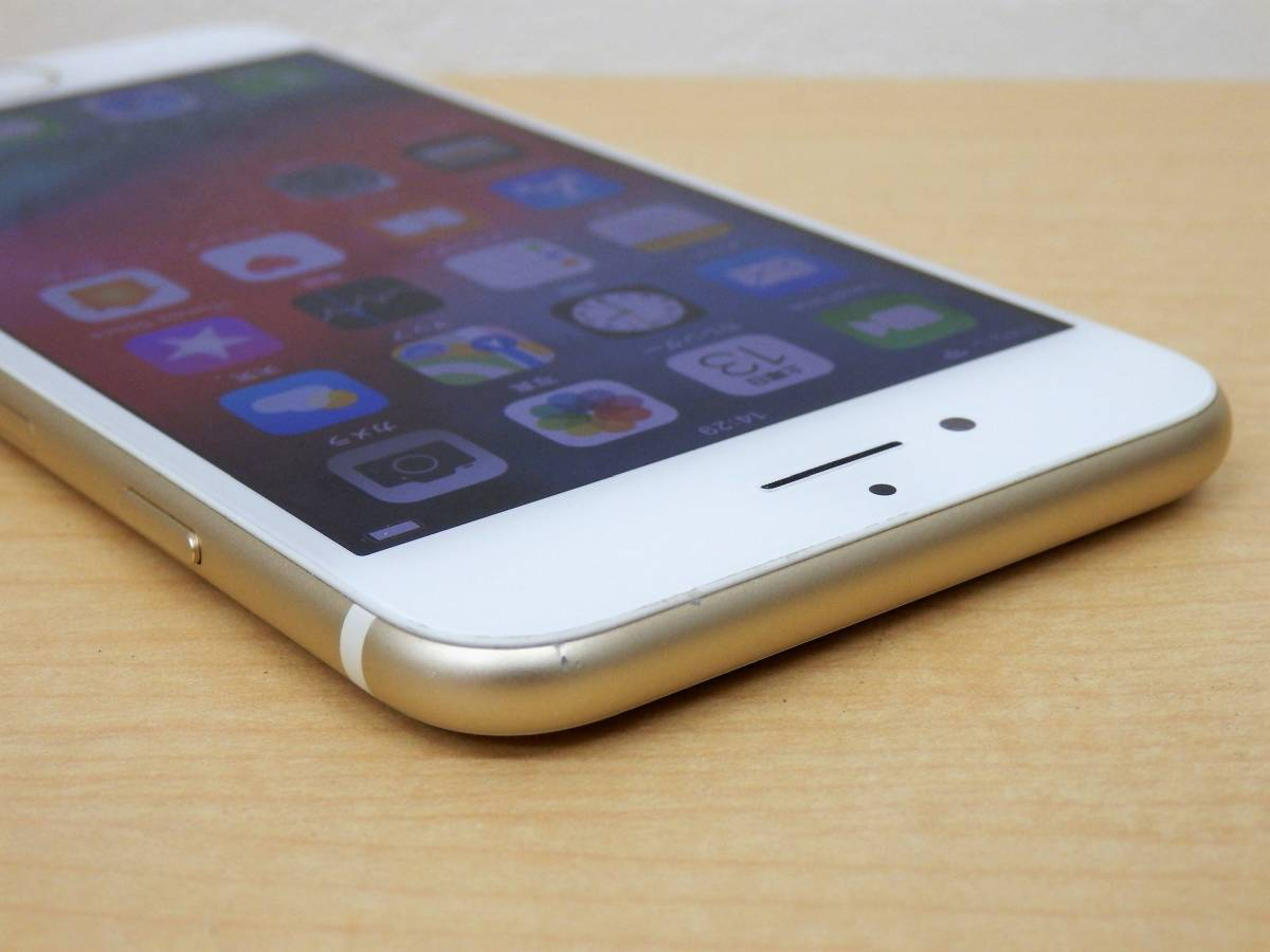 9582◆SIMフリー iPhone7 32GB ゴールド ドコモ 制限〇_画像7