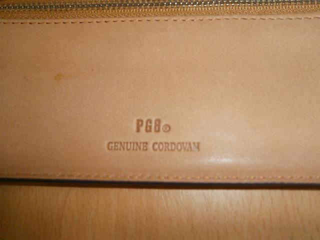 PGB コードバン長財布 新品未使用_画像5