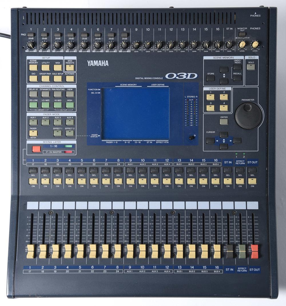 YAMAHA 03D デジタルミキサー PULSE製ハードケース付 中古品 管理F99_画像3