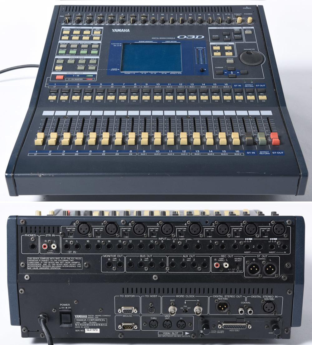 YAMAHA 03D デジタルミキサー PULSE製ハードケース付 中古品 管理F99_画像4