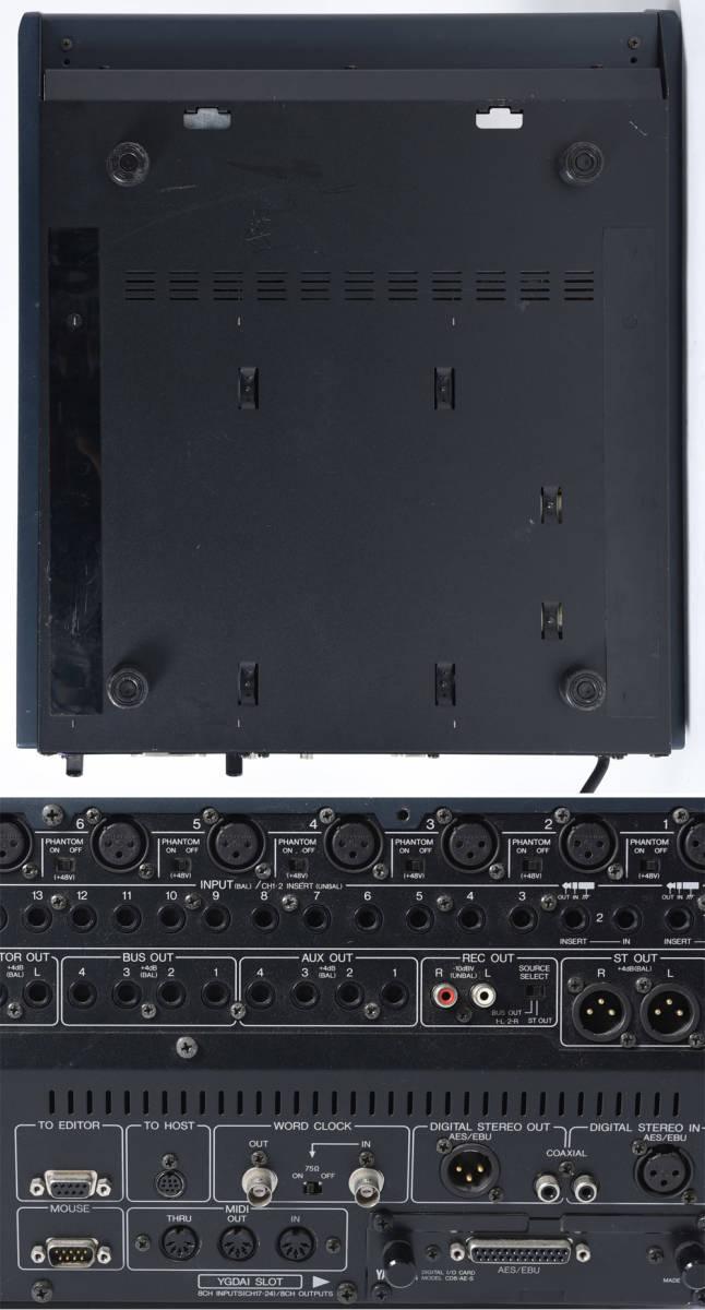YAMAHA 03D デジタルミキサー PULSE製ハードケース付 中古品 管理F99_画像7