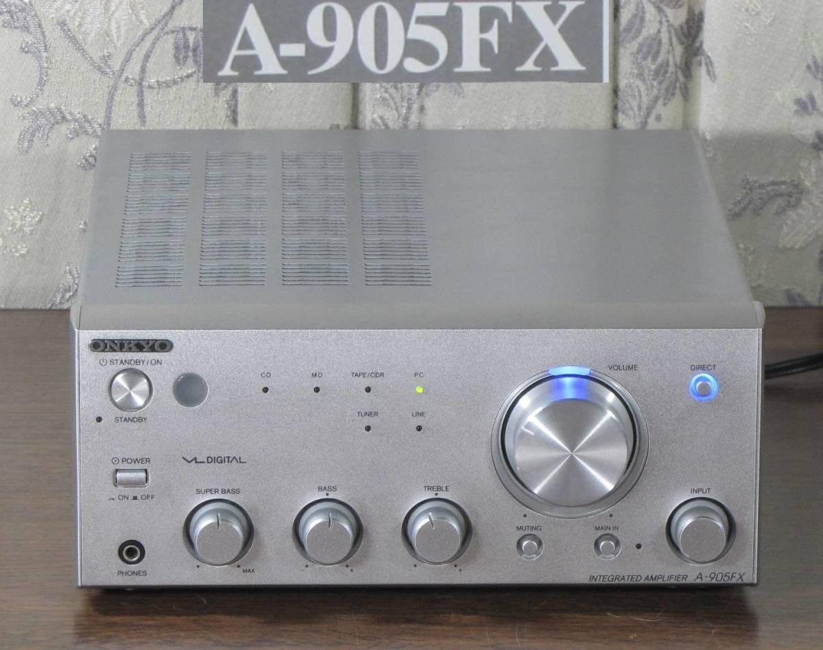 高音質デジタル アンプ A-905FX 動作品 取説 リモコン付