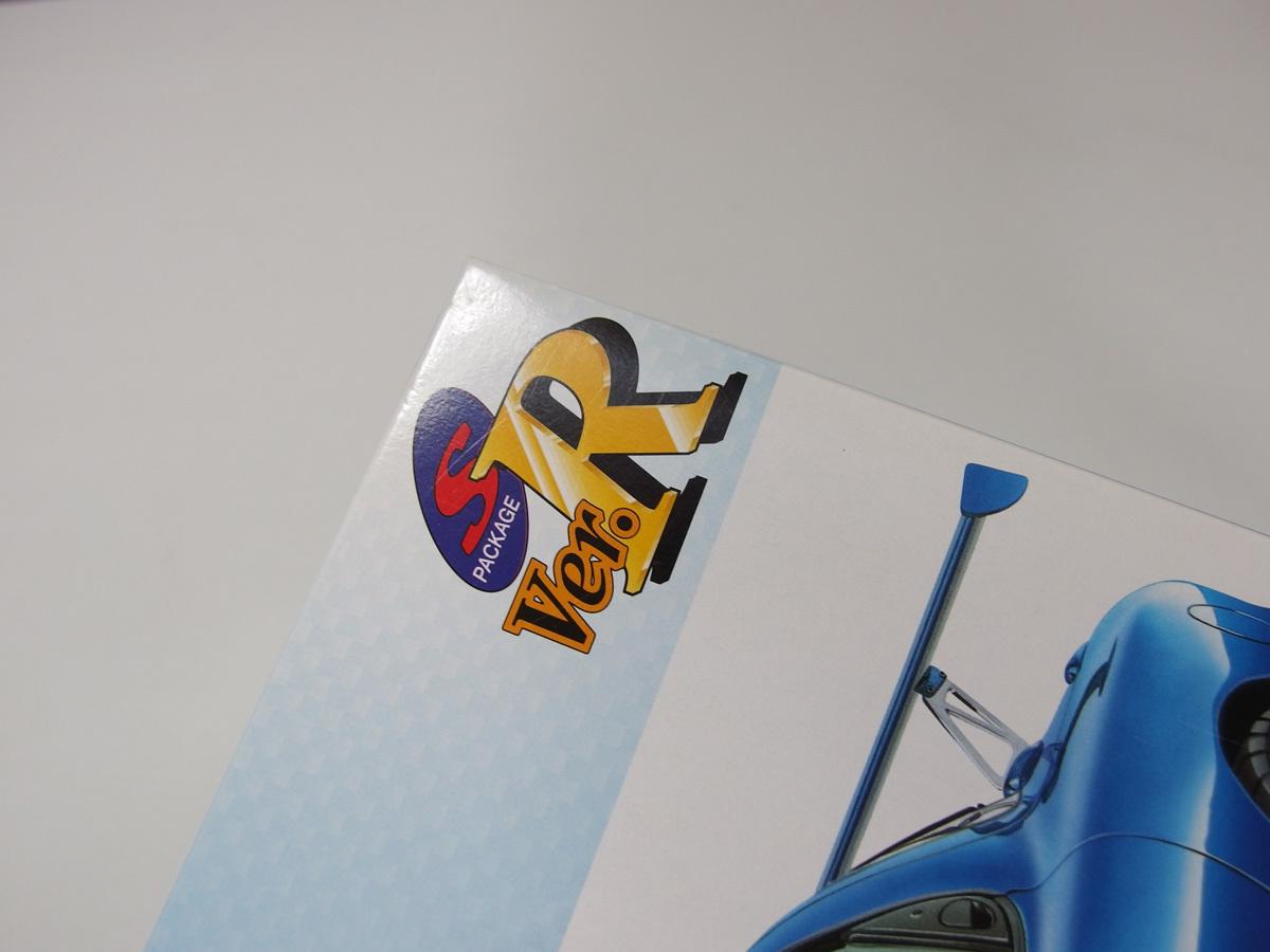 アオシマ 1/24 マツダスピードRX-7 GT-C R34 GT-R Z-tune C-WEST ランサーエヴォリューションⅩ ウルフカウンタック LP500 4点セット_画像9