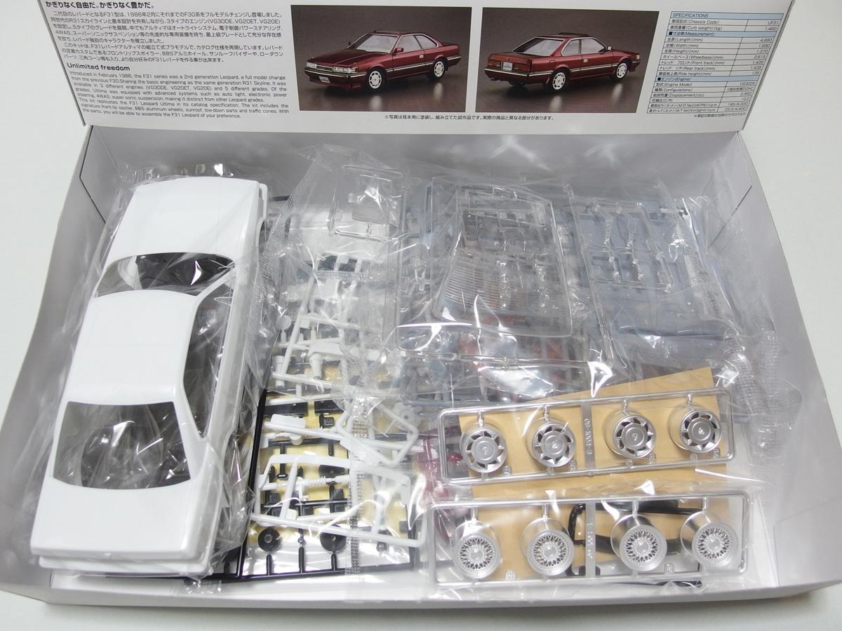 アオシマ フジミ 1/24 フェアレディZ 300ZR S12シルビア RS-X シビックタイプR 後期型 EK9 レパード UF31 4点セット_画像5