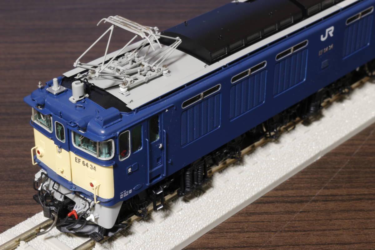 ムサシノモデル製 JR貨物 EF64-0 原色機 34号機(愛知機関区)_画像4