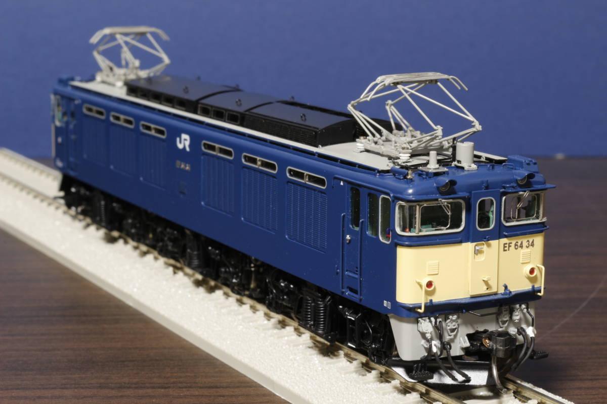 ムサシノモデル製 JR貨物 EF64-0 原色機 34号機(愛知機関区)_画像2