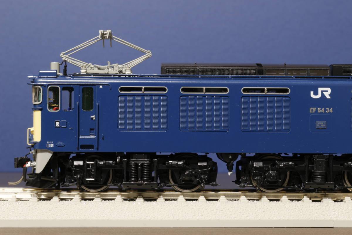 ムサシノモデル製 JR貨物 EF64-0 原色機 34号機(愛知機関区)_画像6