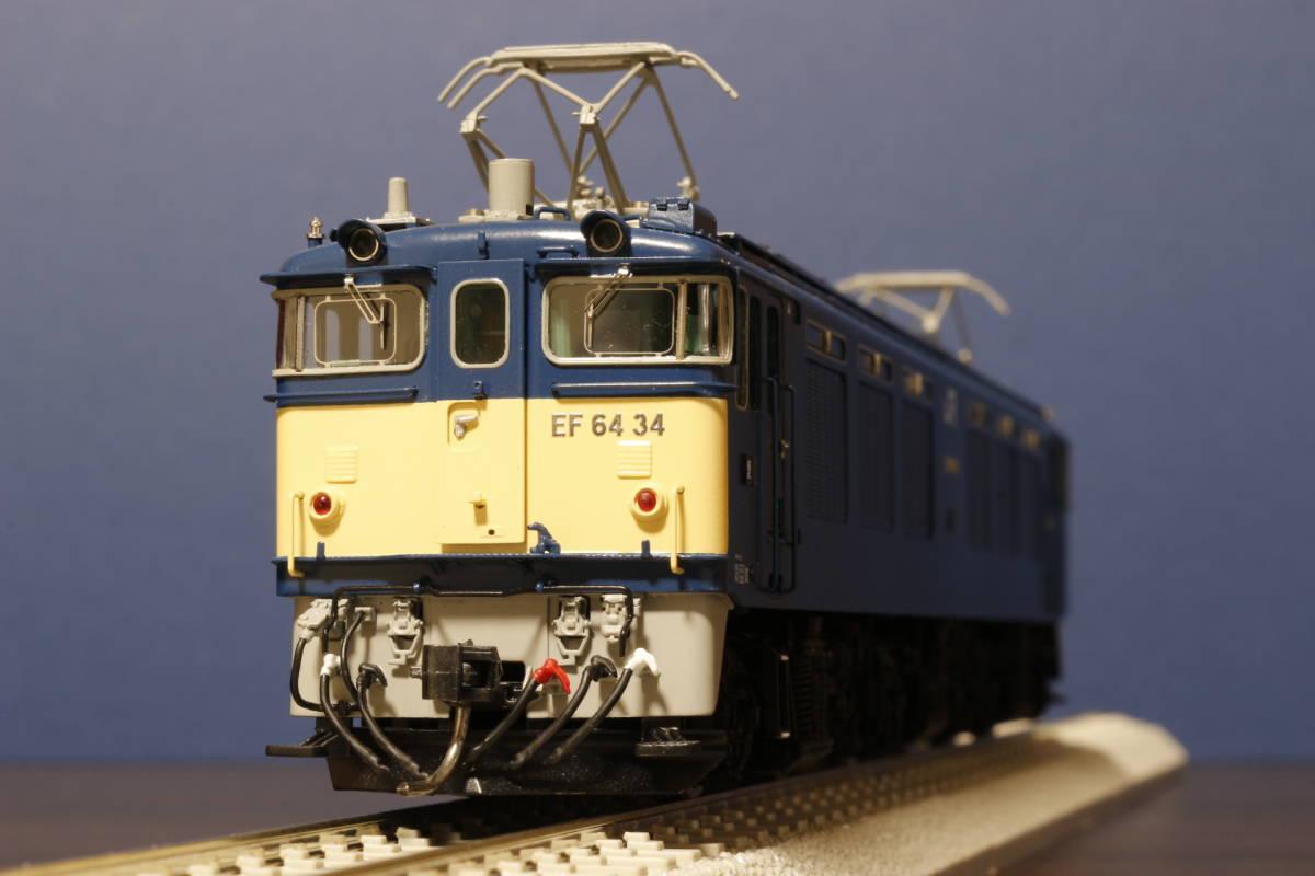 ムサシノモデル製 JR貨物 EF64-0 原色機 34号機(愛知機関区)