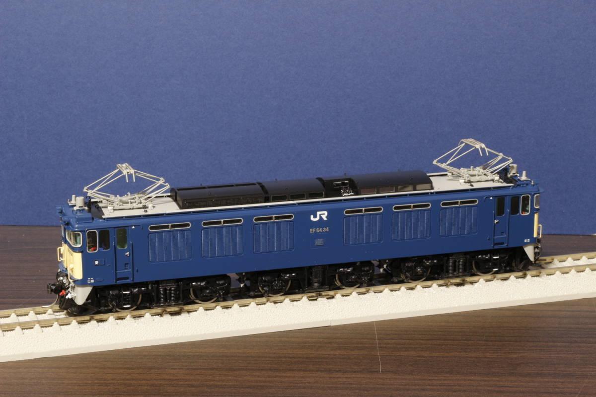ムサシノモデル製 JR貨物 EF64-0 原色機 34号機(愛知機関区)_画像9