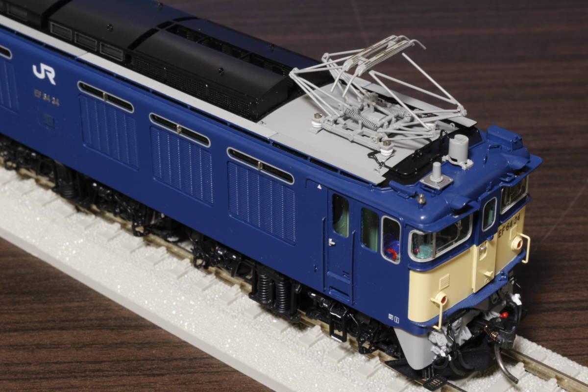 ムサシノモデル製 JR貨物 EF64-0 原色機 34号機(愛知機関区)_画像5