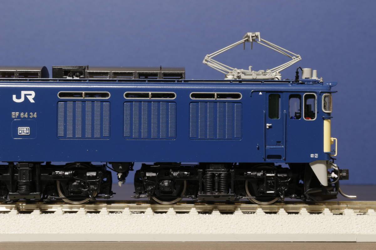 ムサシノモデル製 JR貨物 EF64-0 原色機 34号機(愛知機関区)_画像7