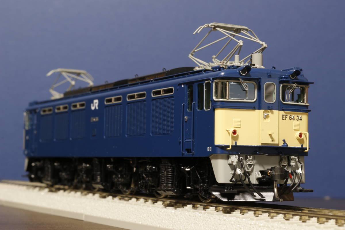 ムサシノモデル製 JR貨物 EF64-0 原色機 34号機(愛知機関区)_画像3