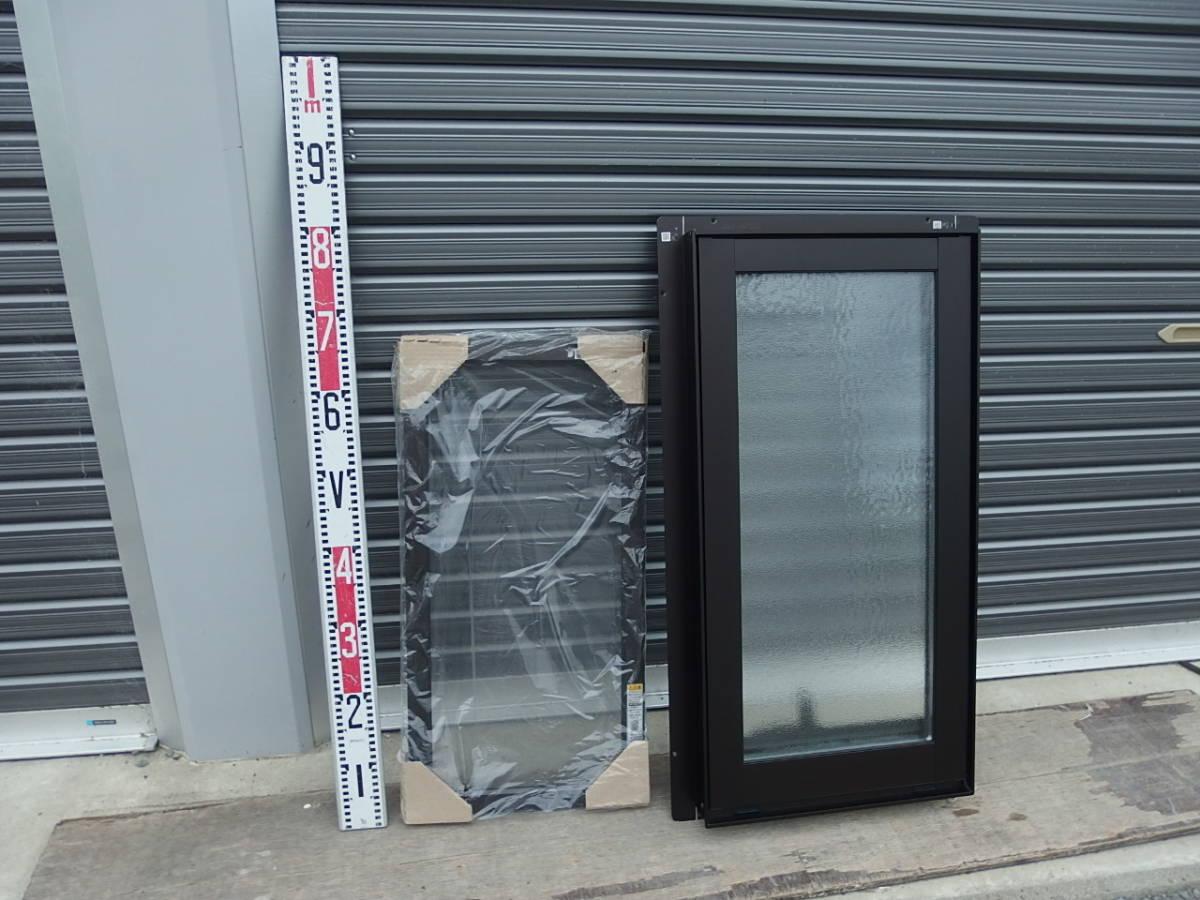 在庫品 アルミサッシ LowE 型 ペアガラス 横すべり出し窓 オペレーター 03607 網戸 ブラック