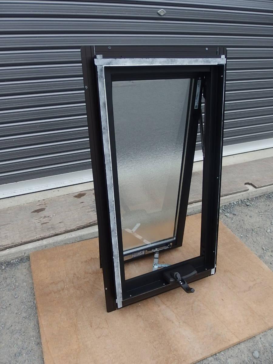 在庫品 アルミサッシ LowE 型 ペアガラス 横すべり出し窓 オペレーター 03607 網戸 ブラック_画像3
