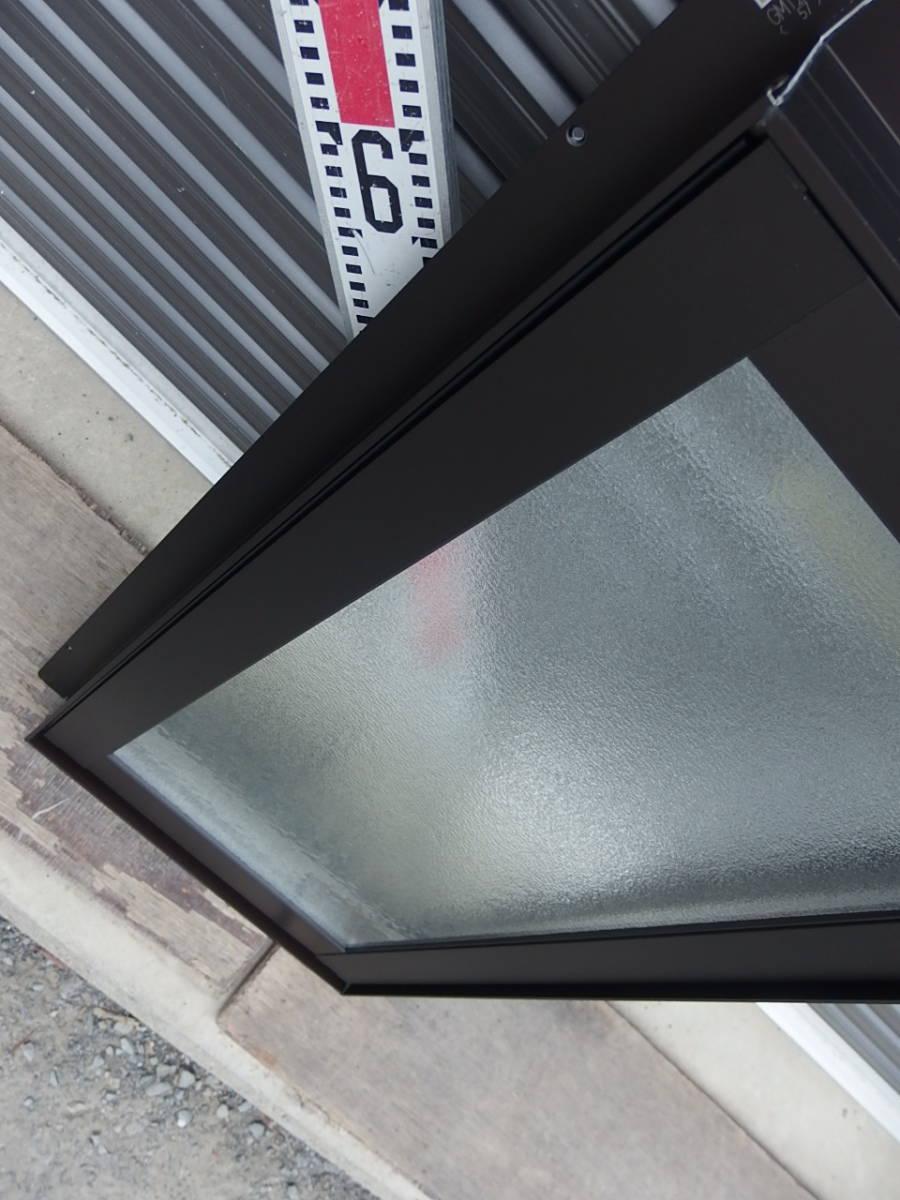 在庫品 アルミサッシ LowE 型 ペアガラス 横すべり出し窓 オペレーター 03607 網戸 ブラック_画像5